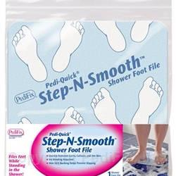 Pedi-Quick® Step-N-Smooth® Shower Foot File (#P3030)