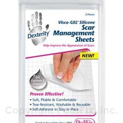 Visco-GEL® Silicone Scar Management Sheets (#P806)