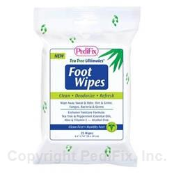 Tea Tree Ultimates® Foot Wipes (#P3370)