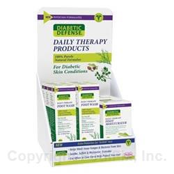 Diabetic Defense® Daily Therapy Mix Counter-Top Display (#D09-DDMIX)